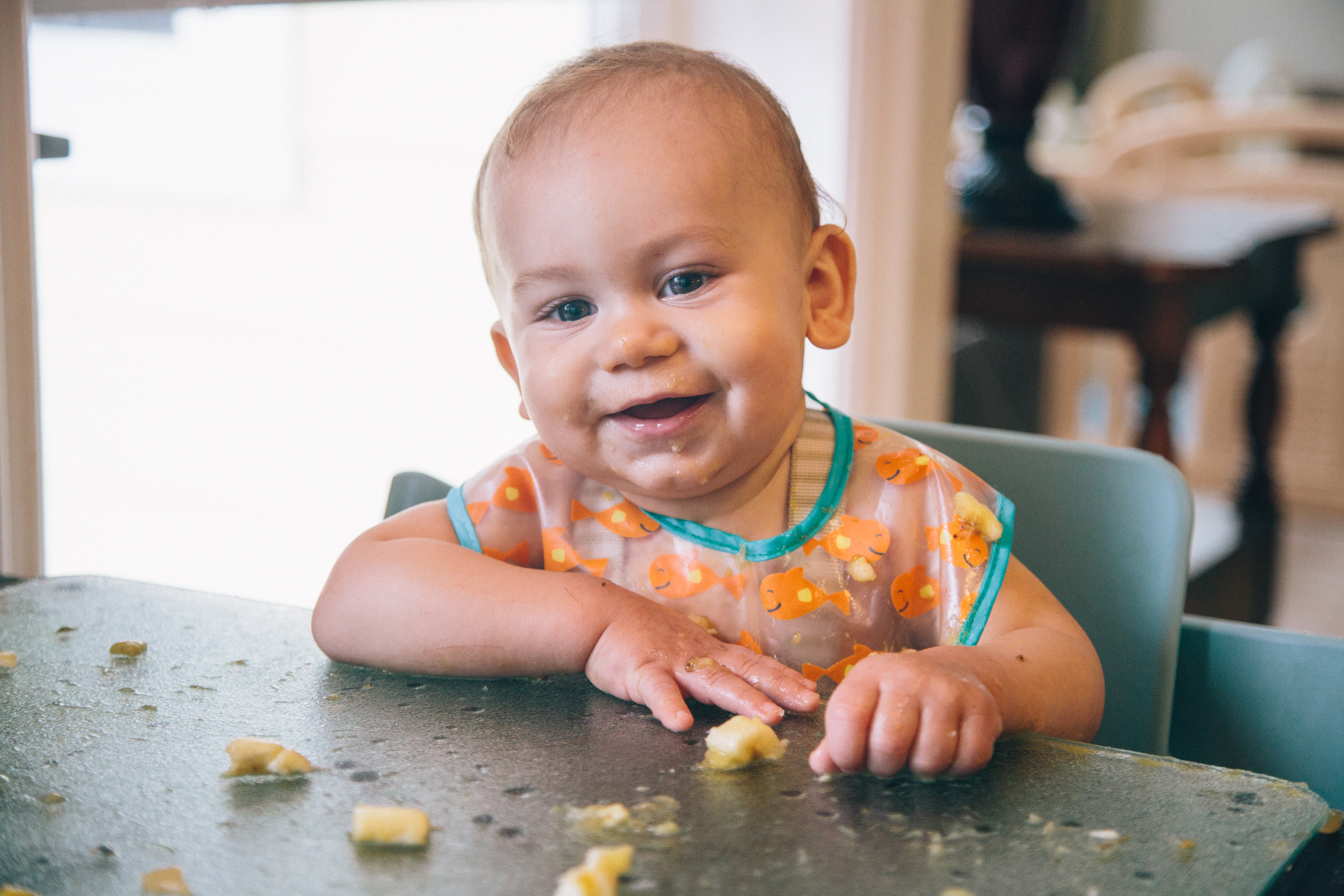 Diana-Milena-Sunkissed-Blonde-Eating-Baby-Led-Weaning-Food-